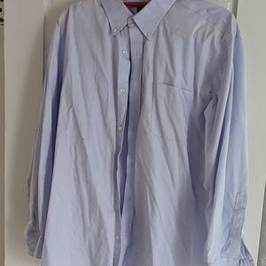 Lands end men's button down shirt.